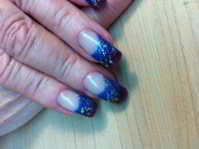 Nails, Non-Acrylic, Lisa's Country Salon, Mountain View, Missouri, MO